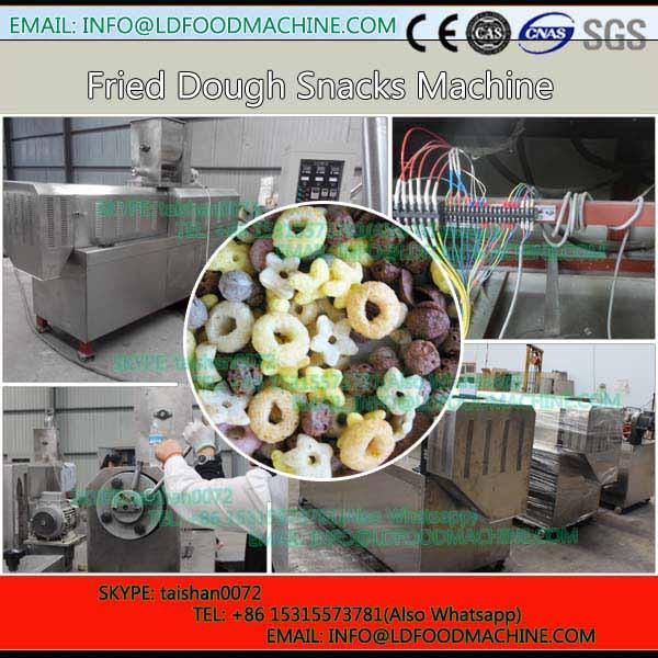 3D fried flour bugle snack production ling / extruding frying bugle snack make machinery #1 image