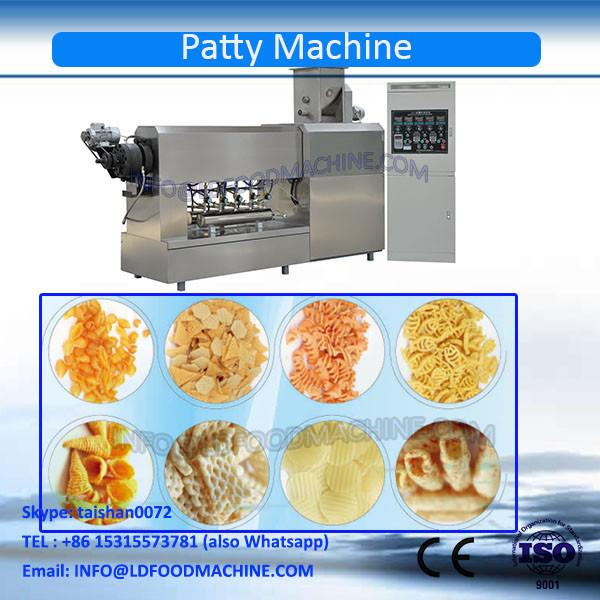 Stainless Steel Fried Wheat Flour Screw Pellet Extruding & Frying Production Line #1 image