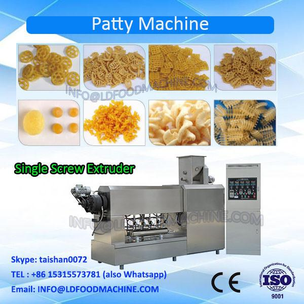 Stainless Steel Potato Flour Screw Pellet Extruding & Frying make machinery #1 image