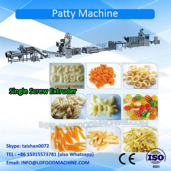 High quality Screw Shell Chips Pellet Extruding Frying Process Line #1 image