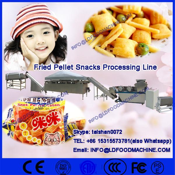 Fried Pallet Chips make ,snack pellets processing machinery,single screw extruder fried pellets #1 image