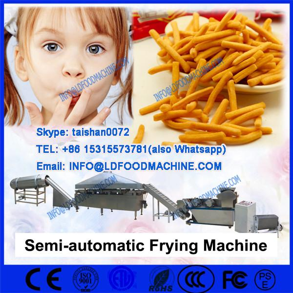 Industrial batch french fries frying machinery #1 image